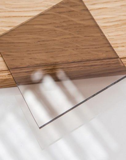 Фото образца тонированного стекла Бронза