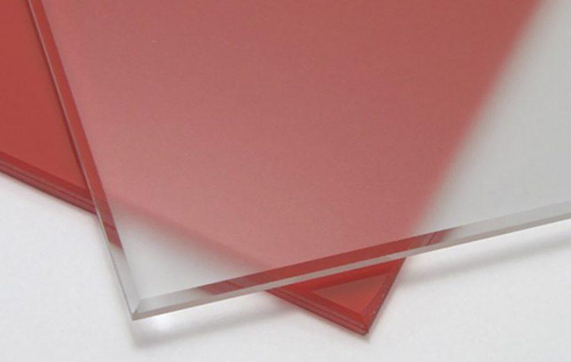 Фото образца матового стекла