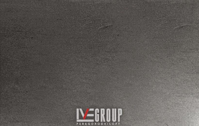 Фото образца серого оксидирования металла