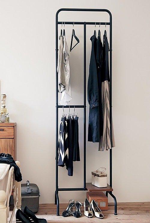 Стеллаж-вешалка для одежды картинка