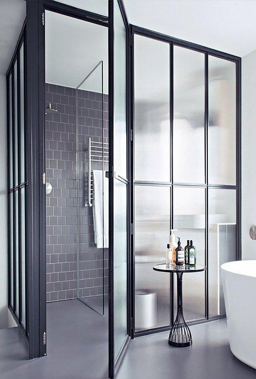 Перегородка в санузел в ванной комнате