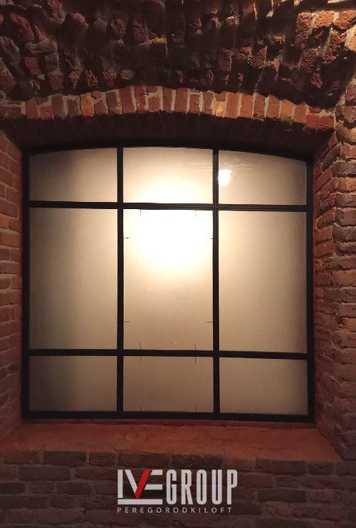 Французское матовое окно фото 5