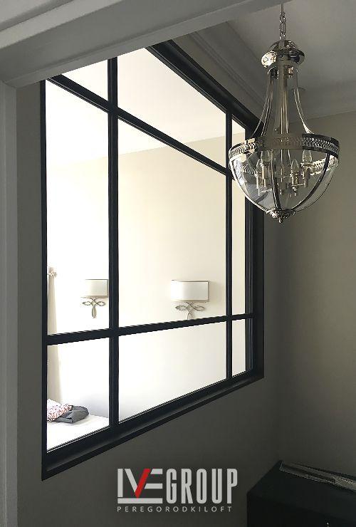Межкомнатное окно в зал фото 6.9