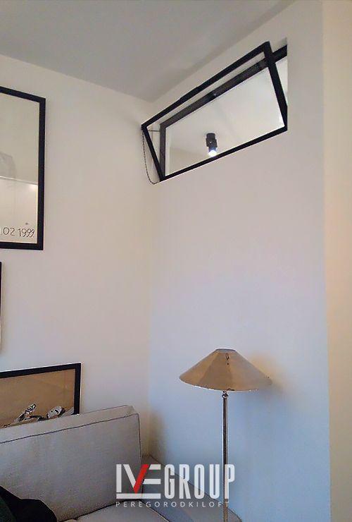Откидное межкомнатное окно в ванную фото