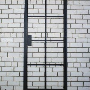 Распашная дверь в стиле лофт купить