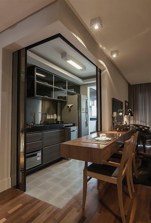 Угловые двери на кухню фото 6