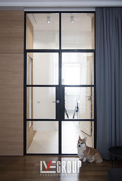 Стеклянная дверь в комнату фото 22