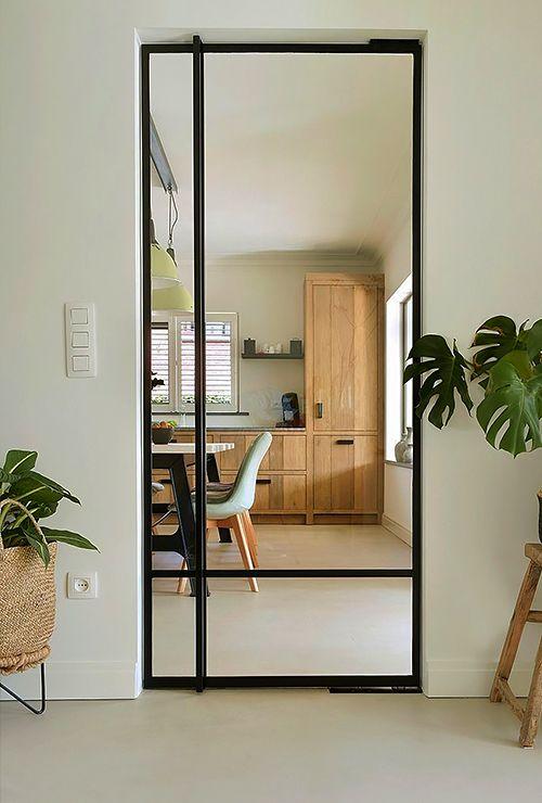 Межкомнатная стеклянная дверь фото 34