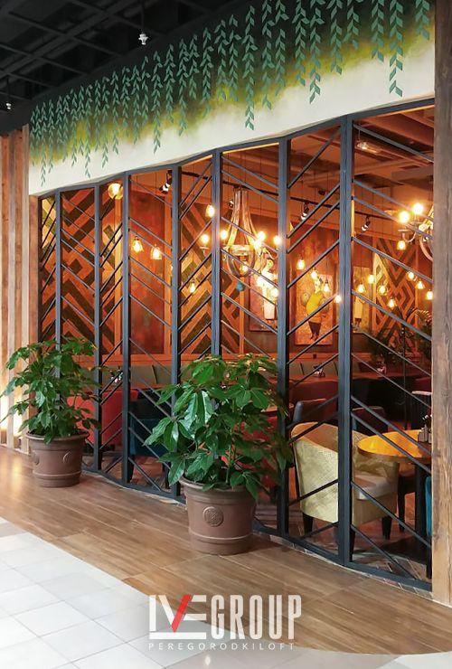 Металлический фасад ресторана на заказ картинка 1