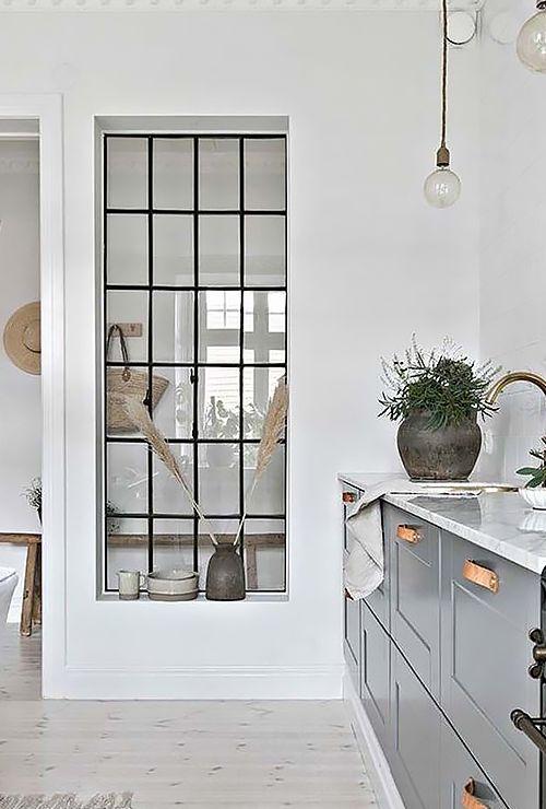 Фото окна между коридором и кухней 3.3