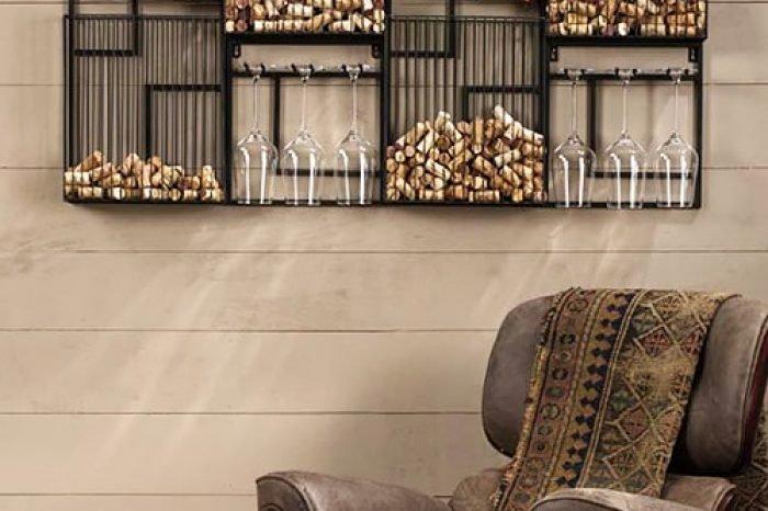 стеллаж для вина - винотека фото