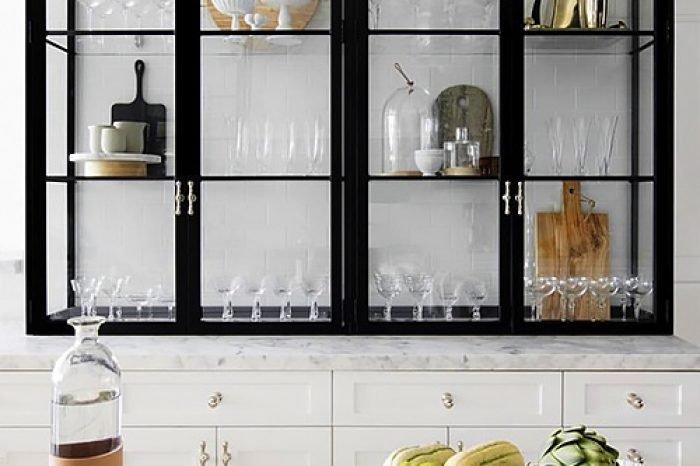 стеллаж на кухню фото