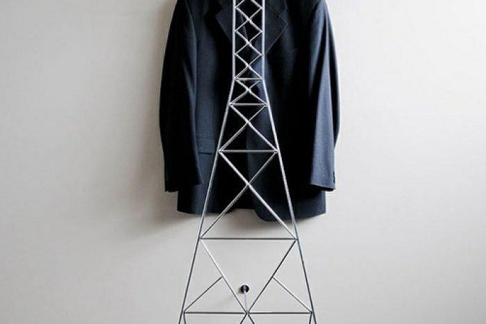 стеллаж вешалка для одежды фото