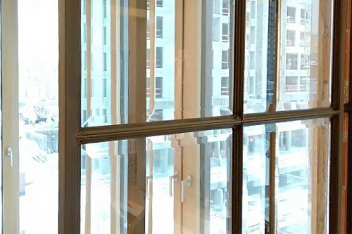 Элемент латунного перекрестия со стеклом