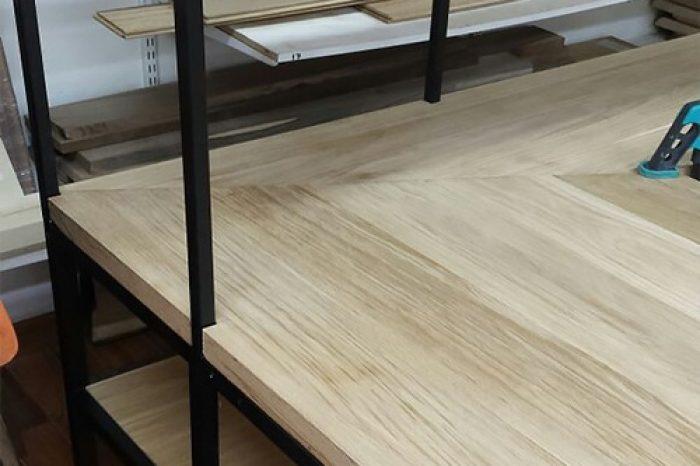 Производство стола лофт от IVEGROUP