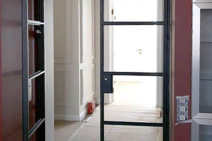 Дверь в прихожую монтаж фото