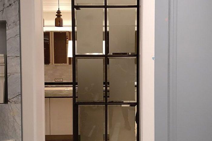 Монтаж раздвижной двери в стену картинка