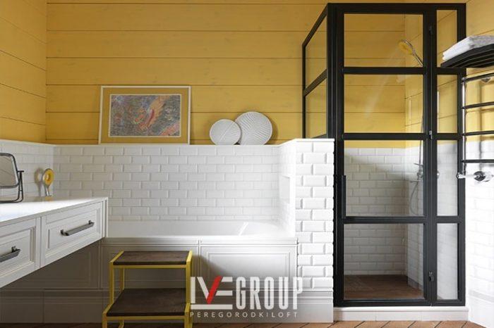 Душевая кабина лофт в детскую ванную AD