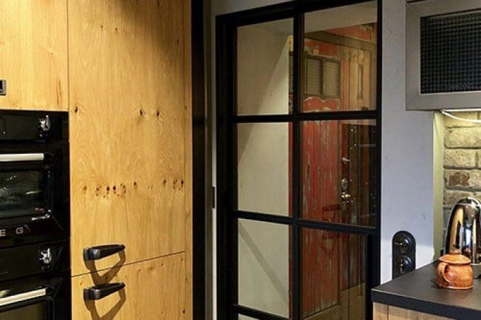 Каскадная дверь в коридор от IVEGROUP